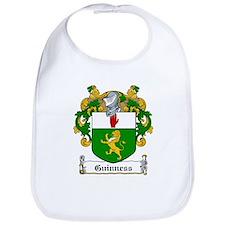 Guinness Family Crest Bib