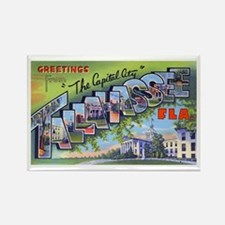 Tallahassee Florida Greetings Rectangle Magnet
