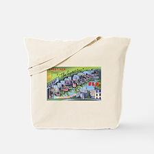 Tallahassee Florida Greetings Tote Bag