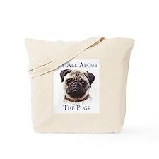 """""""Pug"""" Tote Bag"""