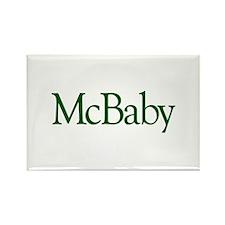 McBaby (Irish Baby) Rectangle Magnet (10 pack)