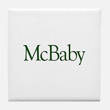 McBaby (Irish Baby) Tile Coaster