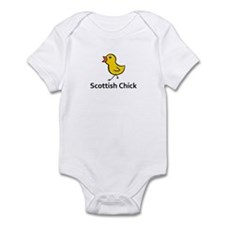Scottish Chick Infant Bodysuit