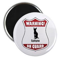 Sphynx On Guard Magnet
