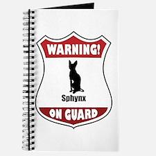 Sphynx On Guard Journal