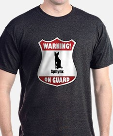 Sphynx On Guard T-Shirt