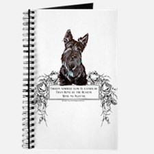 Scottish Terrier Friend Journal