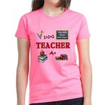 Teachers Do It With Class Wom Women's Dark T-Shirt