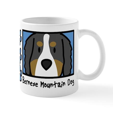 Anime Bernese Mountain Dog Mug