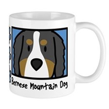 Anime Bernese Mountain Dog Mug