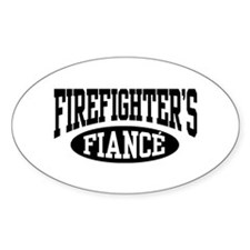 Firefighter's Fiance Stickers