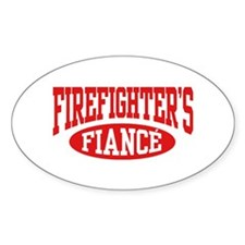 Firefighter's Fiance Decal