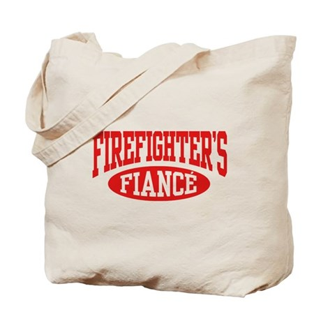 Firefighter's Fiance Tote Bag