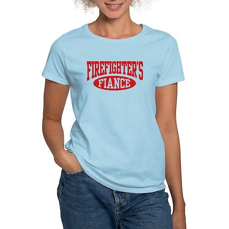 Firefighter's Fiance Women's Light T-Shirt