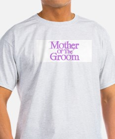 Mother Of The Groom - Pink Fa T-Shirt