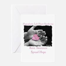 HLHS AWARENESS Greeting Card