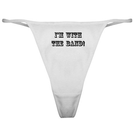 With The Band Classic Thong
