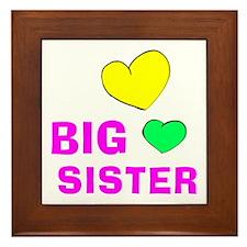 Big Sister Framed Tile