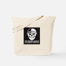 Shootin Newton Tote Bag