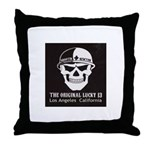 Shootin Newton Throw Pillow