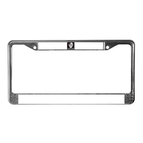 Shootin Newton License Plate Frame