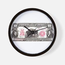Buffalo Money Wall Clock