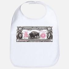 Buffalo Money Bib