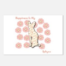 Sphynx Happiness Postcards (Package of 8)