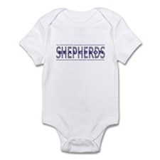 Beauceron Shepherds Baby Bodysuit