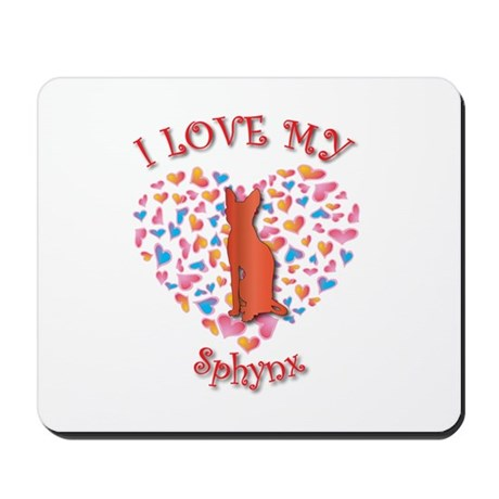 Love My Sphynx Mousepad