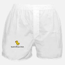 South African Chick Boxer Shorts