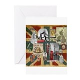 Union jack Greeting Cards (10 Pack)