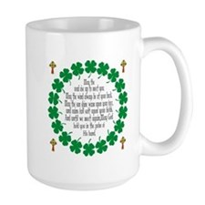 Irish Prayer Blessing Ceramic Mugs