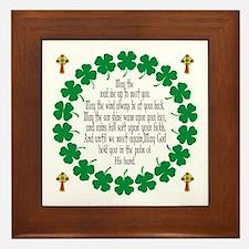 Irish Prayer Blessing Framed Tile