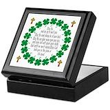 Irish blessing Keepsake Boxes