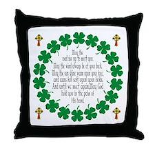 Irish Prayer Blessing Throw Pillow