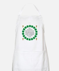 Irish Prayer Blessing BBQ Apron