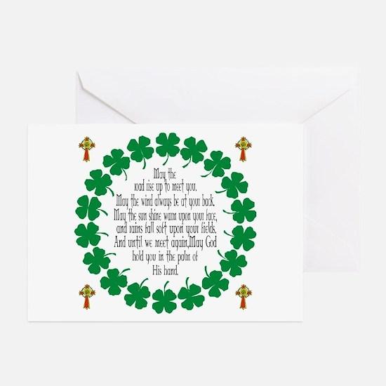 Irish Prayer Blessing Greeting Cards (Pk of 20)