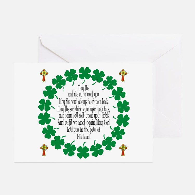 Irish Prayer Blessing Greeting Cards (Pk of 20)