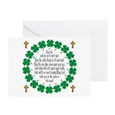 Irish Prayer Blessing Greeting Cards (Pk of 10)