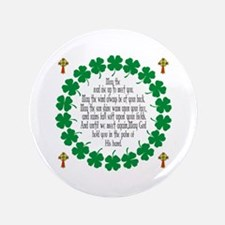 "Irish Prayer Blessing 3.5"" Button"