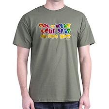 Spay Neuter Rainbow T-Shirt