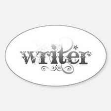 Urban Writer Oval Decal