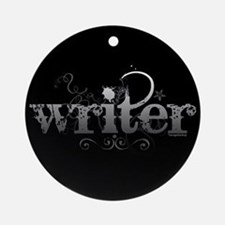 Urban Writer Ornament (Round)