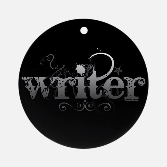 Urban Writer Ornament (Round)