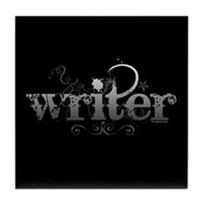 Urban Writer Tile Coaster