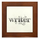 Urban Writer Framed Tile