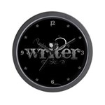 Urban Writer Wall Clock