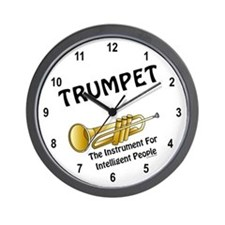 Trumpet Genius Wall Clock