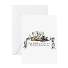 1st Communion Greeting Card